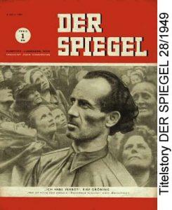 SPIEGEL-Titel Bruno Gröning