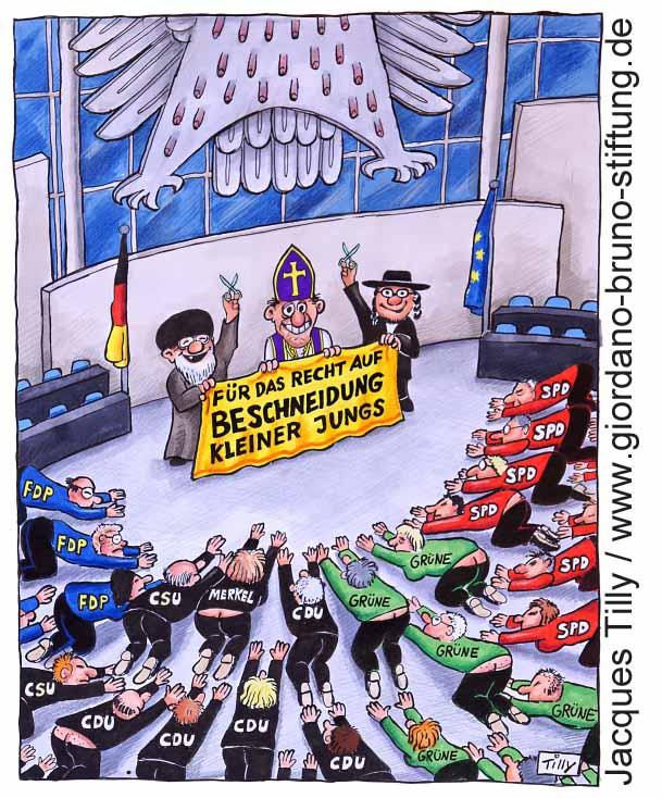 Beschneidung Bundestag