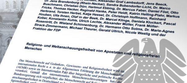 Bundestagsinitiative Apostaten